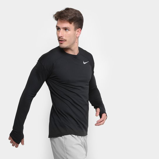Camiseta Nike Dry Element Crew Manga Longa Masculina - Compre Agora ... de7ac05574a