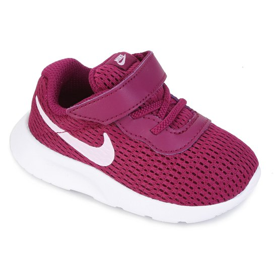 daadf6cabb6 Tênis Infantil Nike Tanjun Feminino - Rosa e Branco - Compre Agora ...