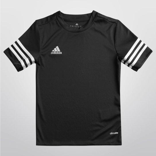 Camisa Infantil Adidas Entrada 14 - Preto - Compre Agora  4198d44e2cc