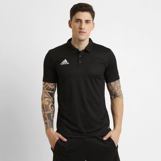 b5c4f0d944 Camisa Polo Adidas Core 15 Masculina - Preto - Compre Agora