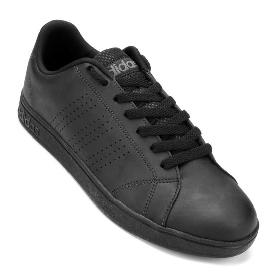 d410907805 Tênis Adidas Advantage Vs Clean - Preto - Compre Agora