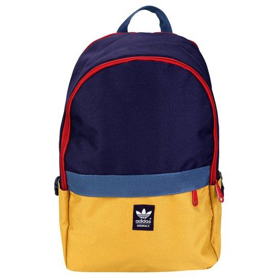 c27a01e6c4 Mochila Adidas Originals Ess - Marinho+Amarelo