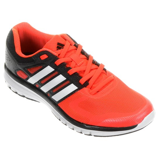 080103195f Tênis Adidas Duramo Elite - Laranja+Preto