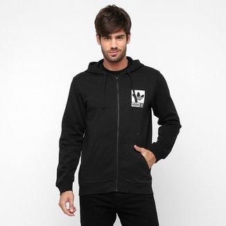 Moletom Adidas Originals Street GRP FZ c  Capuz 784d24ee5a304