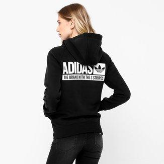 36c97974d35 Moletom Adidas Fz Hood Fle c  Capuz