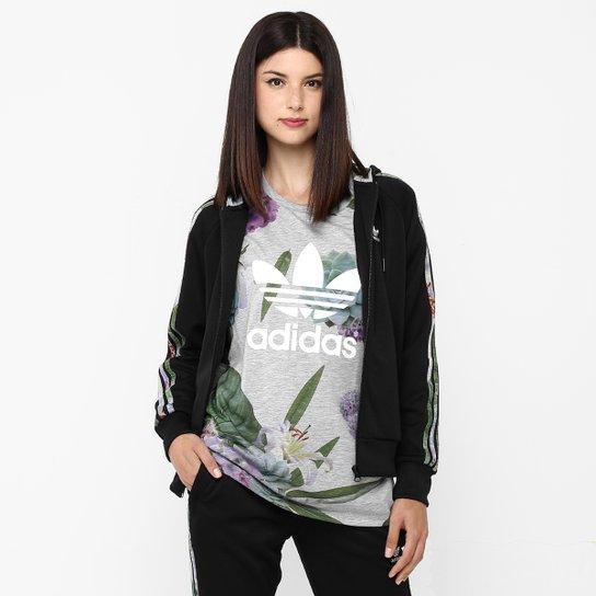ac2fd01cfaa Moletom Adidas Zip Hood Flock c  Capuz - Compre Agora