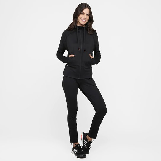 Agasalho Adidas New Shiny Feminino - Compre Agora  2de7e00d51a71