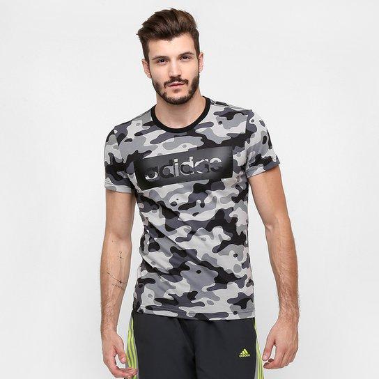 8e1f40c227b Camiseta Adidas Ess Lin Camo Masculina - Compre Agora