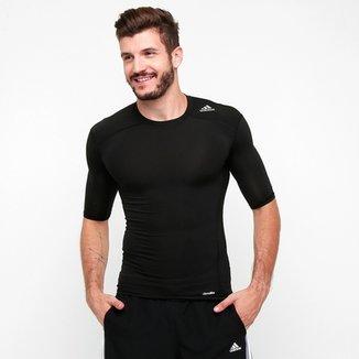 Camiseta de Compressão Adidas Tf Base Masculina bdcf29fbdc908