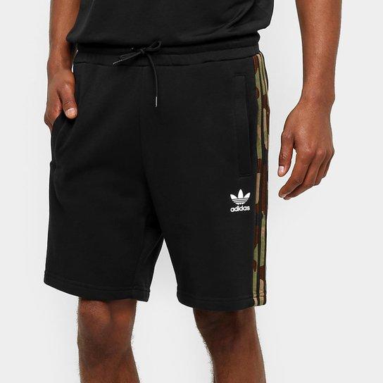 Bermuda Moletom Adidas Originals Essentials Reta Masculina - Compre ... 7d88ab8a37ae9