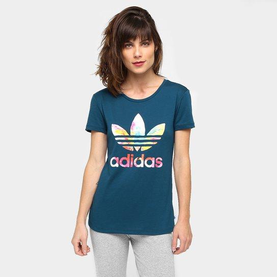 Camiseta Adidas Originals Graphic Trefoil - Compre Agora   Netshoes ed0a861ee0