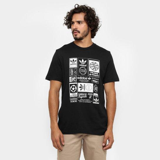 26e98b54c8256 Camiseta Adidas Vintage Trefoil - Compre Agora