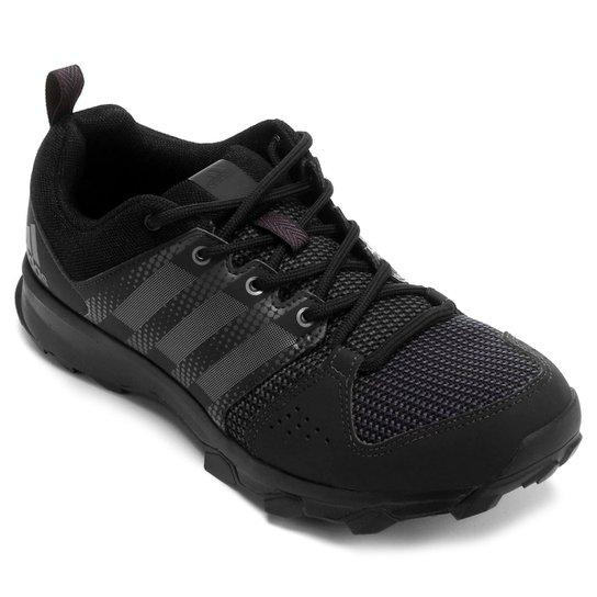 40eb10fd8dc0d Tênis Adidas Galaxy Trail Masculino - Preto+Chumbo