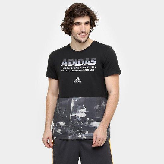 df907951d5631 Camiseta Adidas Adi Aop Masculina - Compre Agora