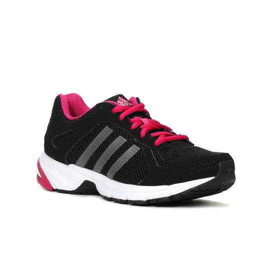 Tênis Esporte Feminino Adidas Duramo 55 Preto rosa - Compre Agora ... 55b21c3fad8e7