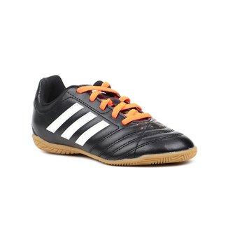 1d42aa582a Carregando zoom. look out for b86ae  Tênis Futsal Infantil Para Menino  Adidas Goletto V Preto info for 7d69e de4fd  Chuteira ...