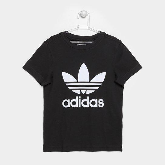 d431f37cd Camiseta Infantil Adidas Trefoil Masculina | Netshoes