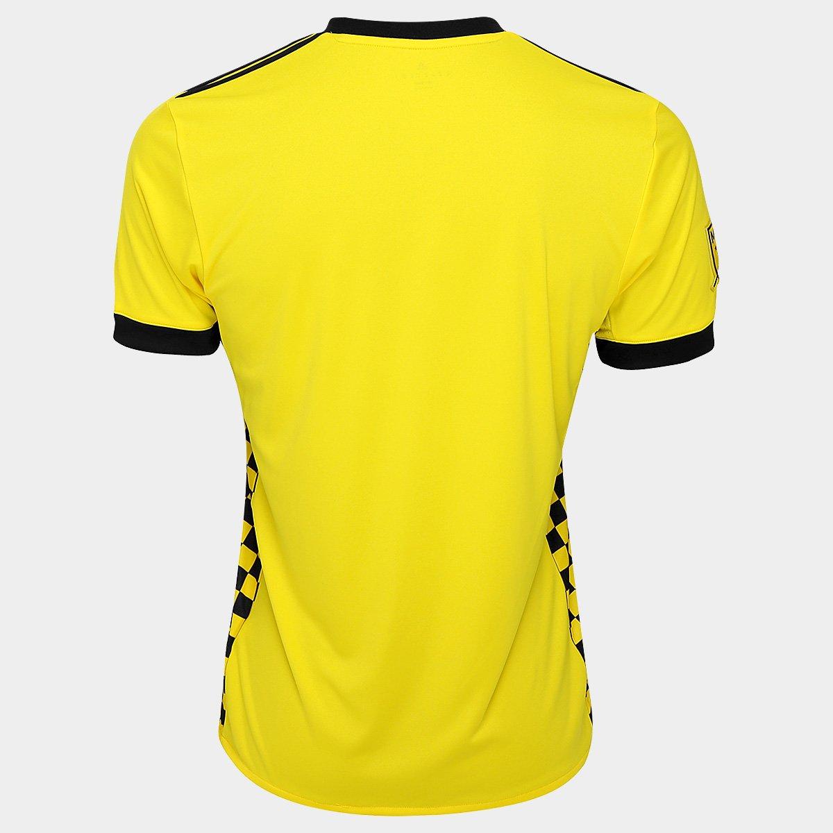 968cda6bfb214 ... Camisa Columbus Crew MLS Home 17/18 s/nº Torcedor Adidas Masculina - ...