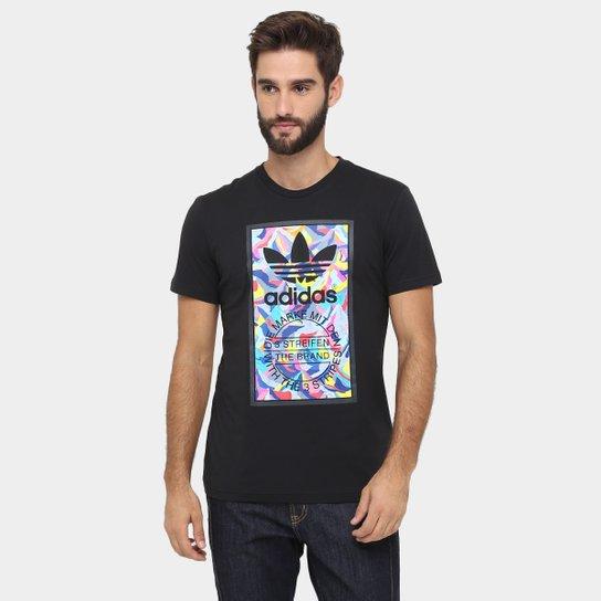 9cab67b7af31d Camiseta Adidas Graphic 3 Stripes - Compre Agora