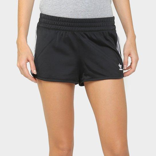 deacafa696 Short Adidas Originals 3 Stripes Feminino - Compre Agora