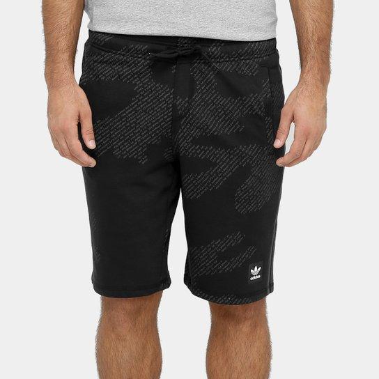 Bermuda Moletom Adidas Chillaxing Reta Masculina - Compre Agora ... ba28928cdec62