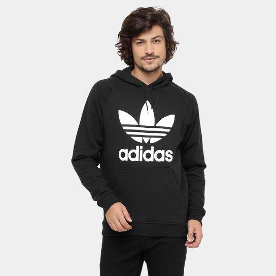 d432b79f1 Moletom Adidas Trefoil Hoody c/ Capuz   Netshoes