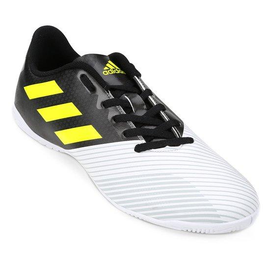 Chuteira Futsal Adidas Artilheira 17 IN - Preto e Branco - Compre ... 96378bcc6e8ab