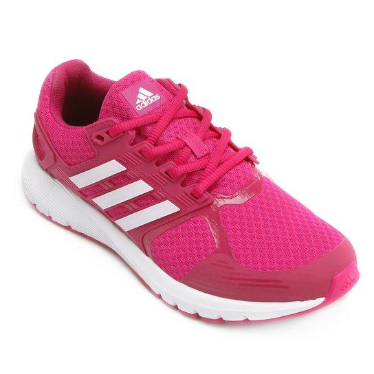 Tênis Adidas Duramo 8 Feminino - Pink e Branco - Compre Agora  272668ce02fe1