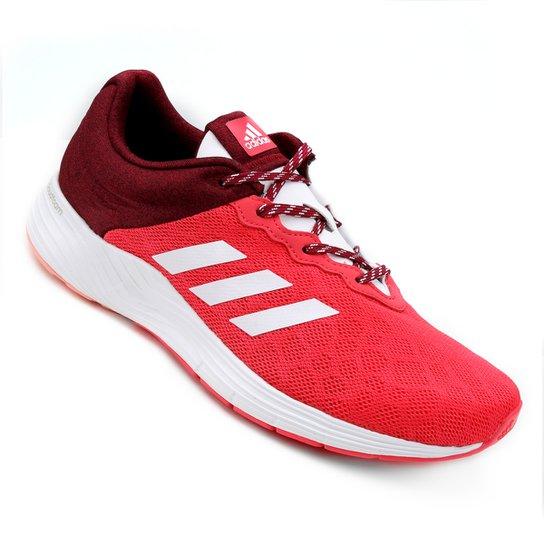 49f3e83de2 Tênis Adidas Fluid Cloud 9 Feminino - Rosa e Branco - Compre Agora ...