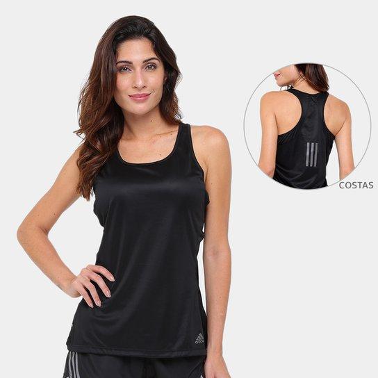 0aceedc0d96e0 Regata Adidas Response Com Bojo Feminina - Compre Agora