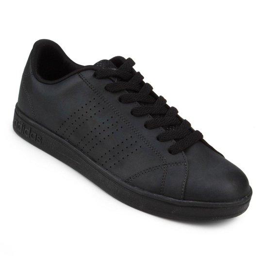 f82074700 Tênis Adidas Vs Advantage Clean Masculino - Preto | Netshoes