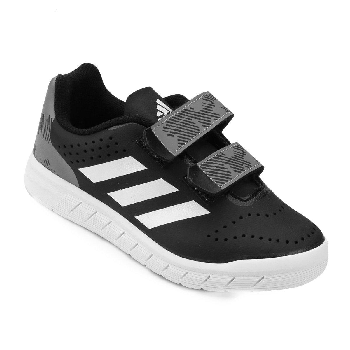 Tênis Infantil Adidas Quicksport Cf C Velcro  4f9c2956a578d