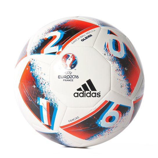 Bola Futebol De Campo Adidas Euro 2016 Glider - Compre Agora  78e86970c3a5b