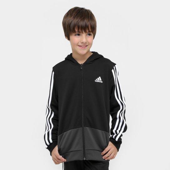 3f86084f25da0 Jaqueta Adidas Yb Gu Fz Hoodie c  Capuz Infantil - Compre Agora ...