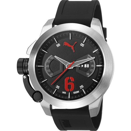 74c8e2bbe81a9 Relógio Puma Advance - Preto | Netshoes