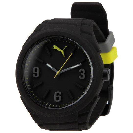 5d389d2c6b260 Relógio Puma Analógico Gummy 96227M0PMN | Netshoes