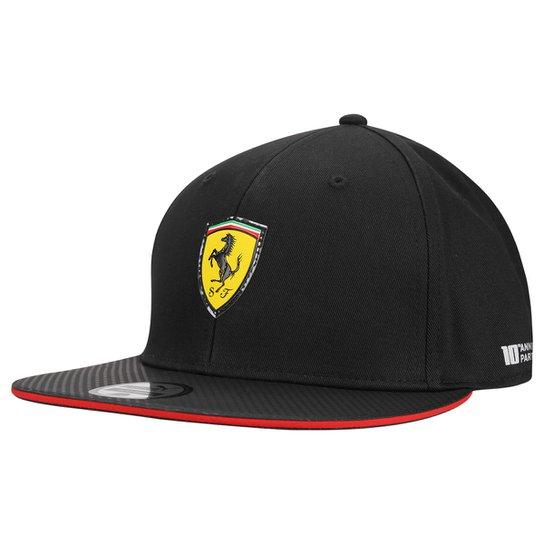 4c7bf9ff2d Boné Puma Scuderia Ferrari Flatbrim | Netshoes