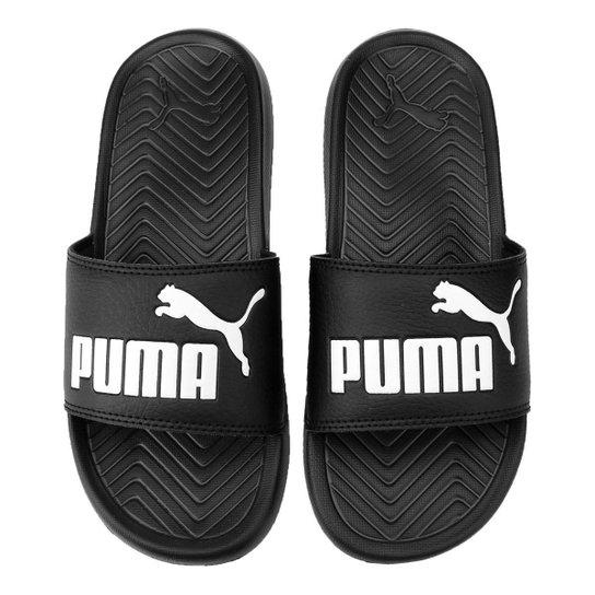 2ebe5510dbd80 Chinelo Puma Popcat - Preto | Netshoes