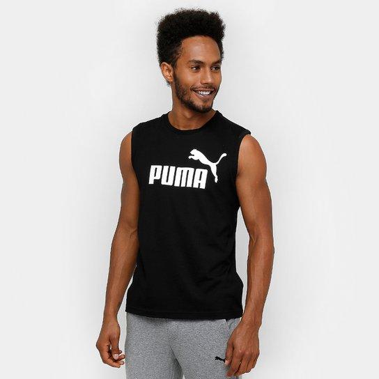 Camiseta Regata Puma Ess No.1 Sl - Compre Agora  a3f86e1ab00d7