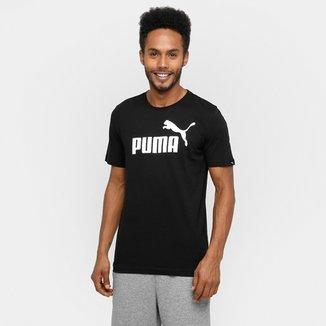 Camiseta Puma Ess No.1 Tee Masculina b2417fd2d5e