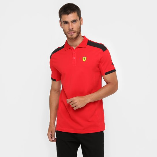 ea5c23a2d27f7 Camiseta Pólo Puma Scuderia Ferrari - Compre Agora