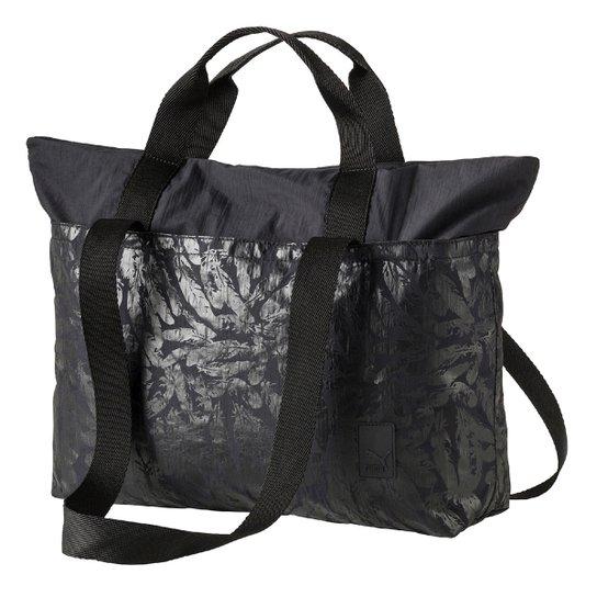 Bolsa Puma Shopper Prime Large Feminina - Preto - Compre Agora ... b39d8179f10