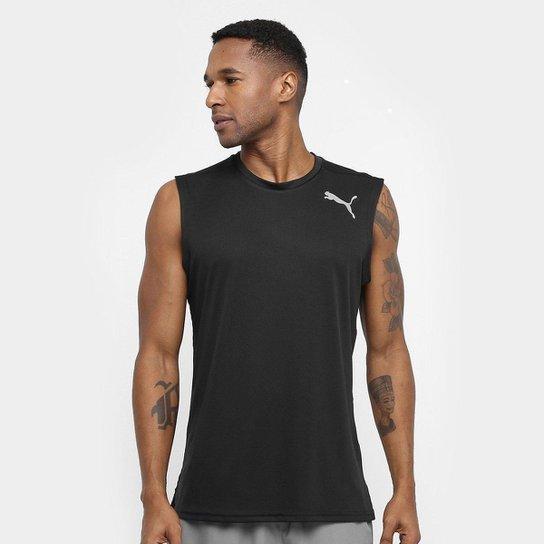 eacd4d2f87a4a Camiseta Regata Puma Essential - Preto - Compre Agora
