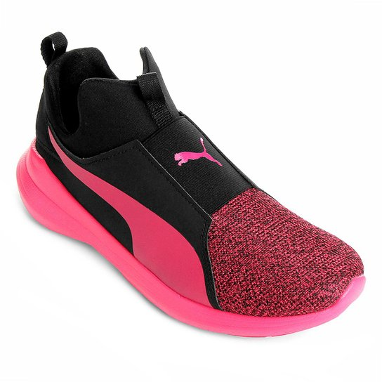 5c4bb3f78d4 Tênis Puma Rebel Mid Wns Knit Feminino - Compre Agora