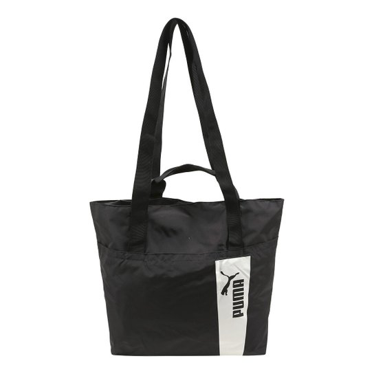 Bolsa Puma Shopper Core Style Large Feminina - Preto - Compre Agora ... 7382f93bd2f