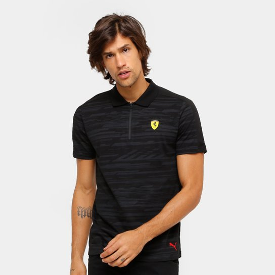 Camiseta Pólo Puma Scuderia Ferrari AOP Masculina - Compre Agora ... a5394977eec
