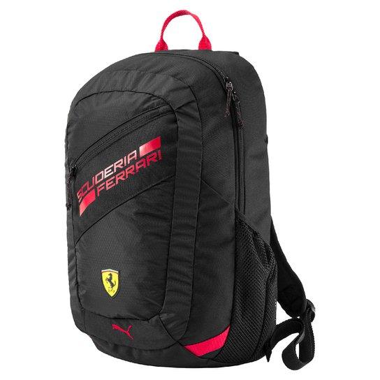 9255fe708 Mochila Puma Scuderia Ferrari Fanwear - Preto e Vermelho | Netshoes