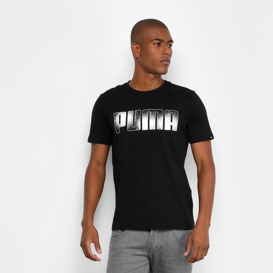 Camiseta Puma Brand Tee Masculina - Compre Agora  7a643e8e5c7
