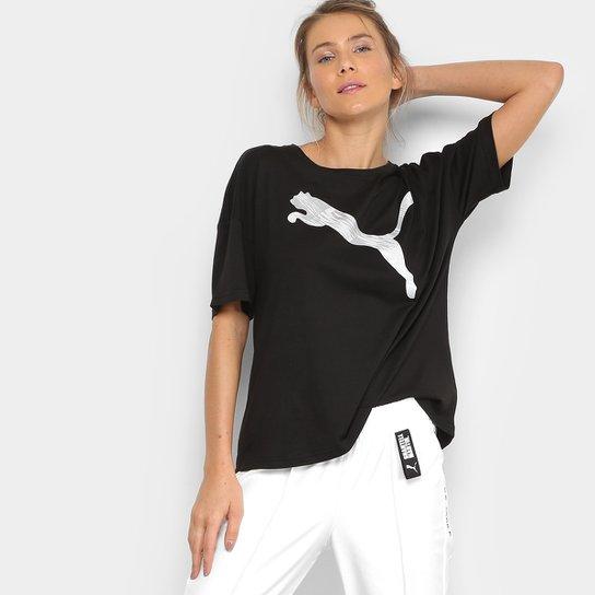 Camiseta Puma Summer Fashion Tee Feminina - Compre Agora  14f939b336455