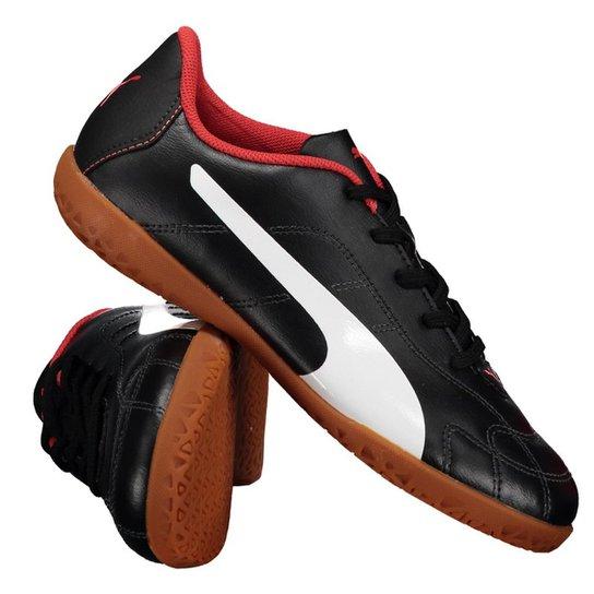 1362287653 Chuteira Puma Clássico It Futsal Juvenil - Preto
